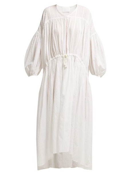 Love Binetti - A Fun Fun Cotton Dress - Womens - White