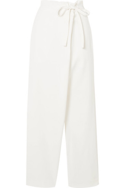LE 17 SEPTEMBRE - Draped Woven Pants - Ivory