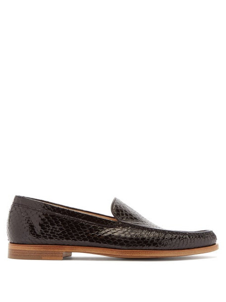 Gabriela Hearst - Renault Elaphe Loafers - Womens - Black