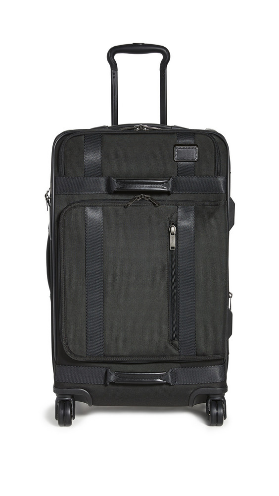 TUMI Merge Short Trip Expandable 4 Wheeled Package Case in black