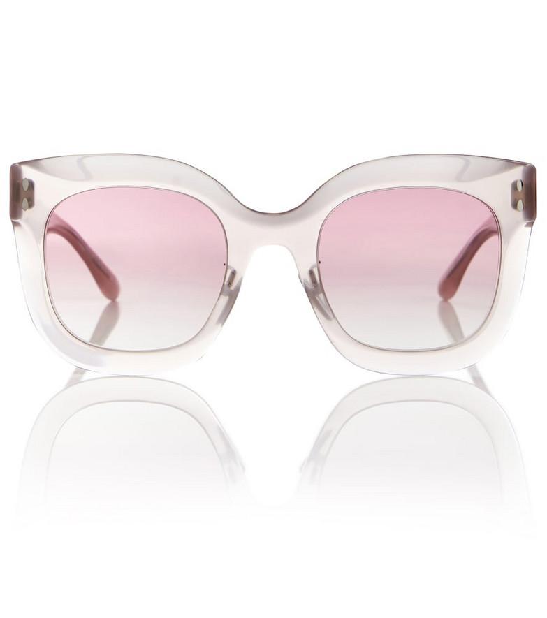 Isabel Marant D-frame acetate sunglasses in pink
