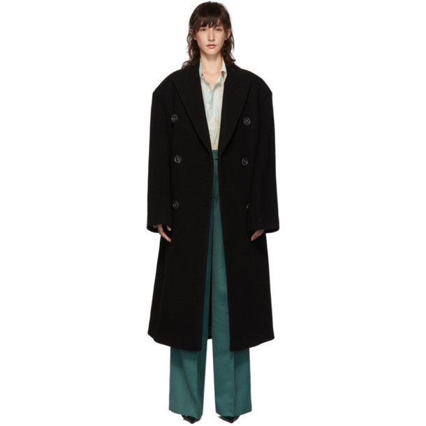 Acne Studios Black Octania Coat