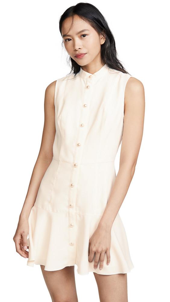 Amanda Uprichard Gatlan Dress in ivory