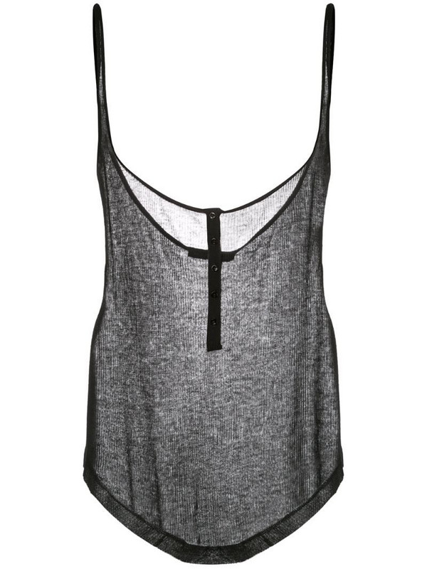 Kiki de Montparnasse Kate tank top in black