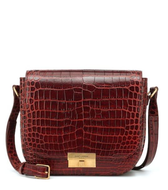 Saint Laurent Betty leather crossbody bag in brown