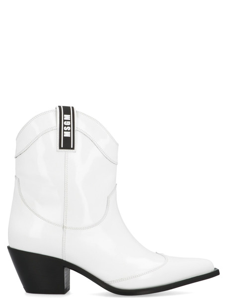 Msgm Shoes in white