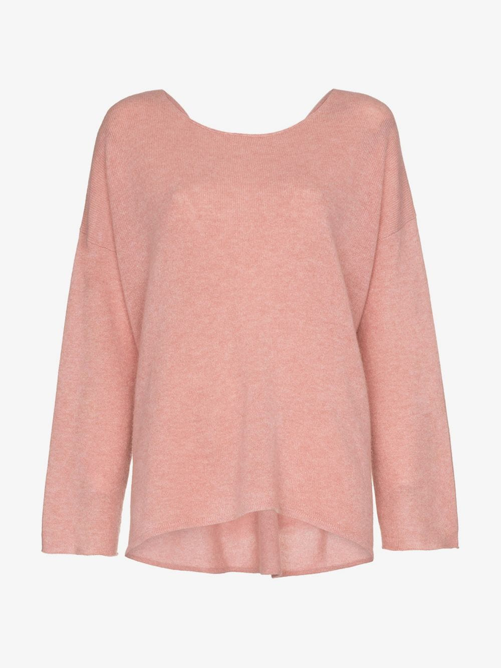 Le Kasha cortina cashmere jumper in pink