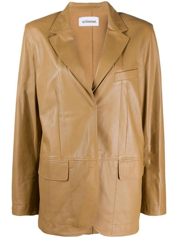 Sylvie Schimmel Standing Glove blazer in brown