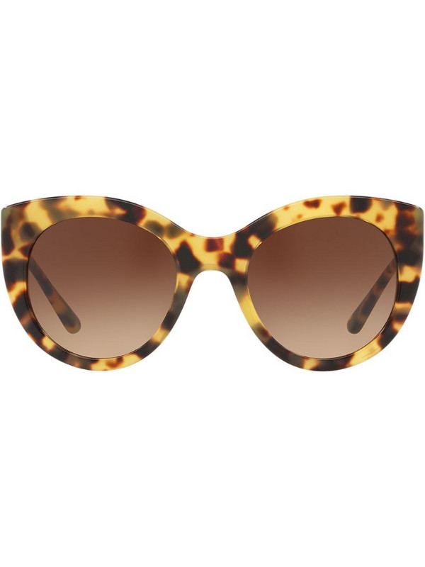 Tory Burch oversized sunglasses in brown