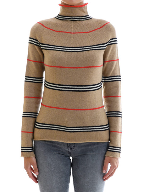 Burberry Cashmere Pullover in beige