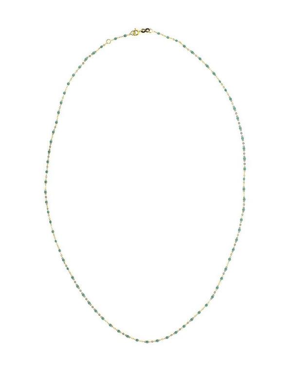 Gigi Clozeau 18kt yellow gold Classic Gigi ice beaded necklace
