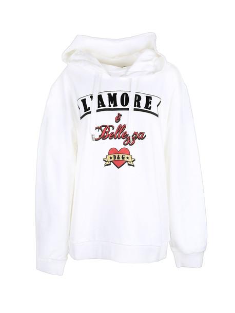 Dolce & Gabbana sweatshirt in bianco