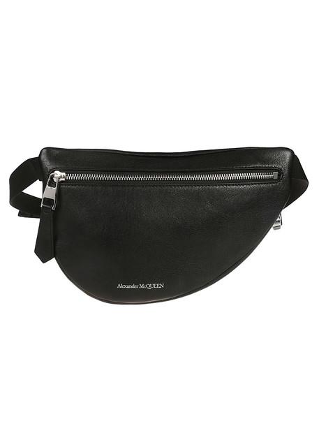 Alexander Mcqueen Logo Belt Bag in black
