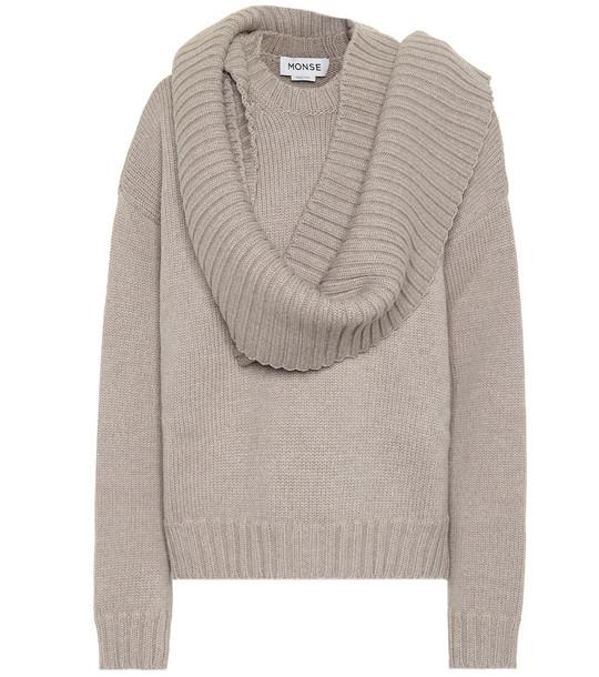 Monse Wool sweater in grey