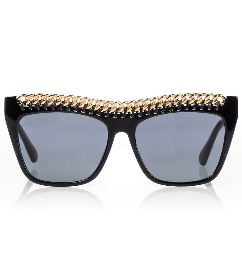 Stella McCartney Embellished sunglasses in black