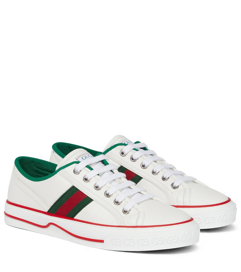 Gucci Tennis 1977 leather sneakers in white
