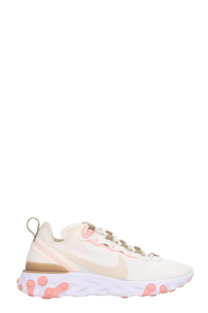 Nike React Element 5 Sneakers In White Tech/synthetic