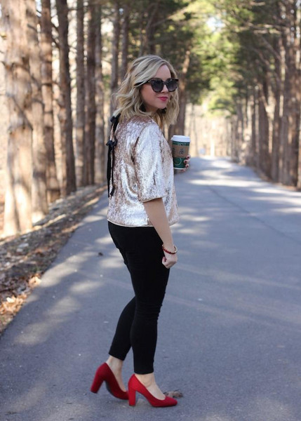 stylin in st. louis blogger top pants sunglasses
