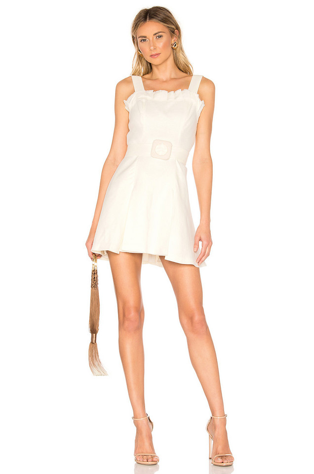 Alexis Andel Dress in ivory