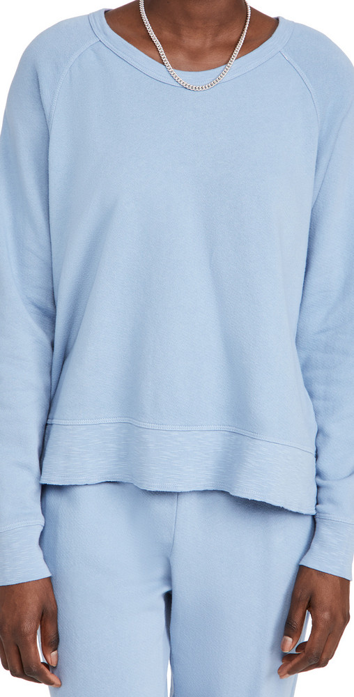 Wilt Raglan Sweatshirt in blue