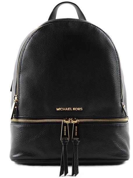 Michael Kors Rhea Backpack in black