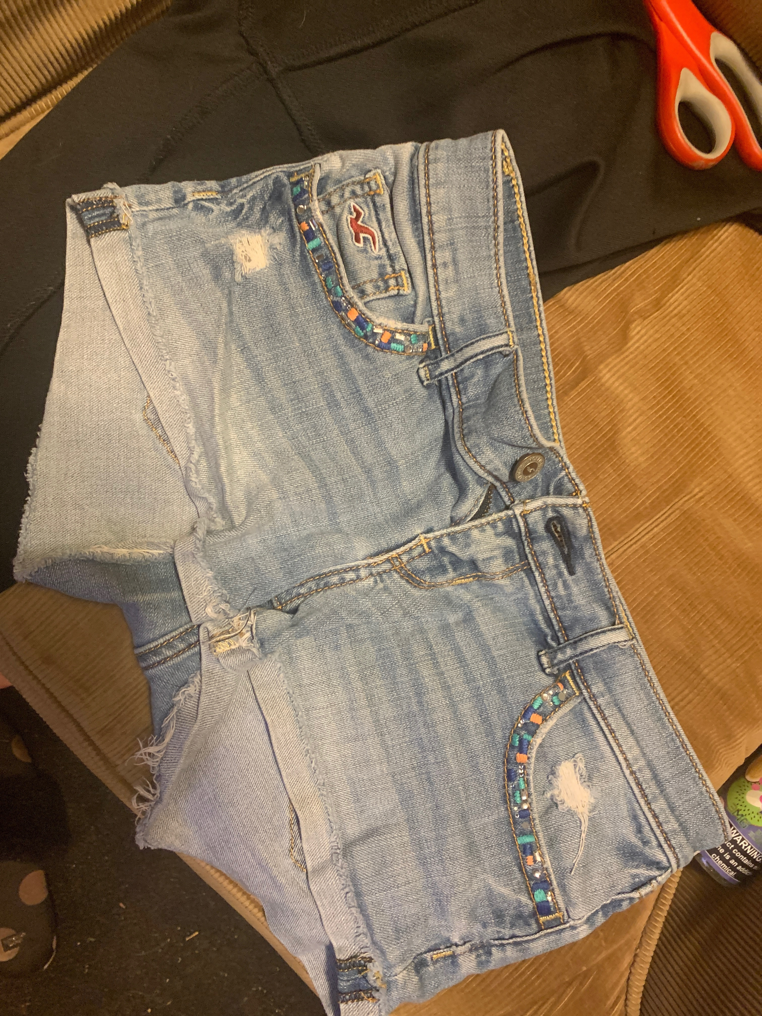 shorts hollister jeans