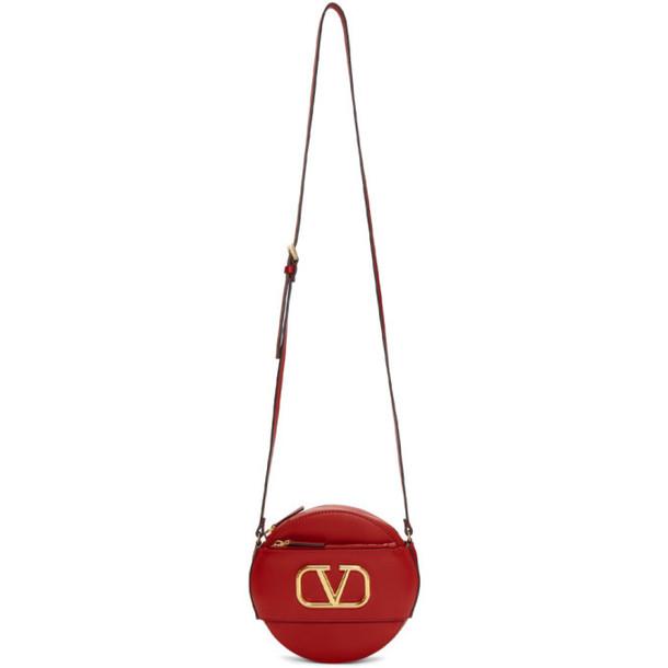 Valentino Red Valentino Garavani VLogo Round Shoulder Bag
