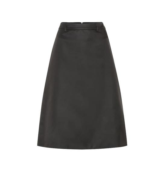 Prada Midi skirt in black