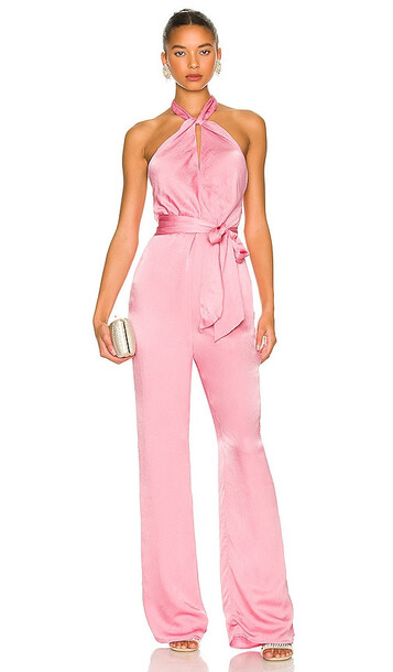 Lovers and Friends Carlita Jumpsuit in Pink