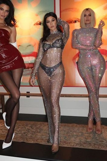 underwear glitter mesh mesh dress see through see through dress sexy dress kourtney kardashian kardashians pumps instagram dress mini dress vinyl vintage dress strapless celebrity kendall jenner model off-duty