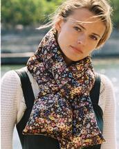 scarf,sweater,jumpsuit
