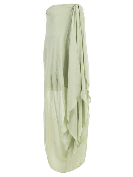 Jacquemus Dress W/s Brassiere in green