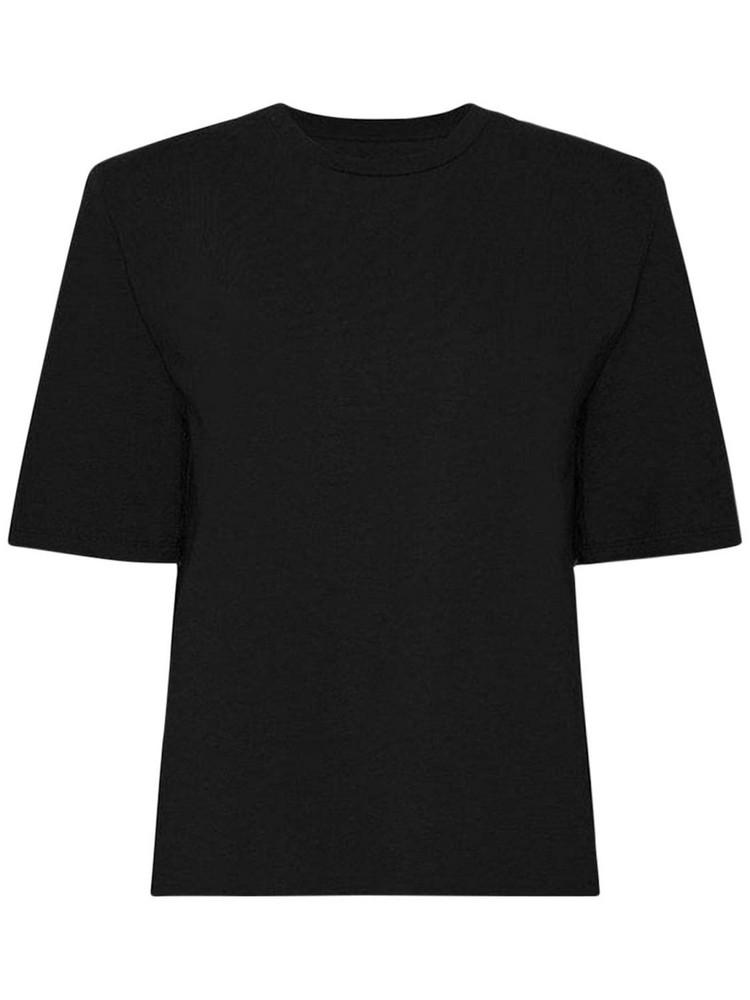 THE FRANKIE SHOP Carrington Organic Cotton T-shirt in black