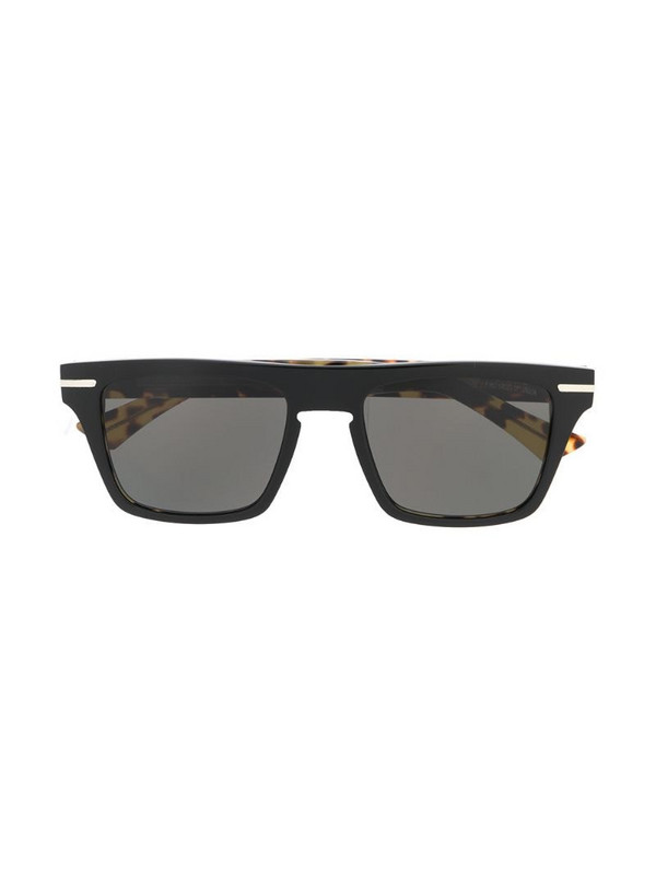 Cutler & Gross 1357-02 square-frame sunglasses in yellow