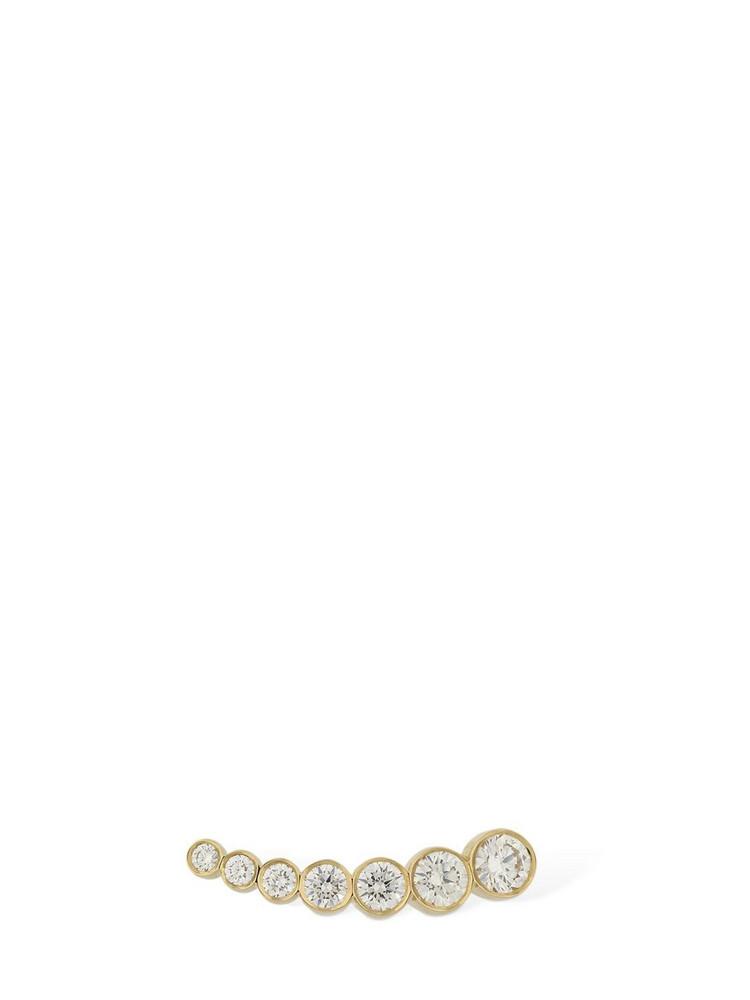 SOPHIE BILLE BRAHE Petite Croissant De Lune Rx Mono Earring in gold