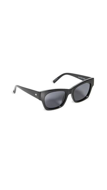 Le Specs Rocky Sunglasses in black