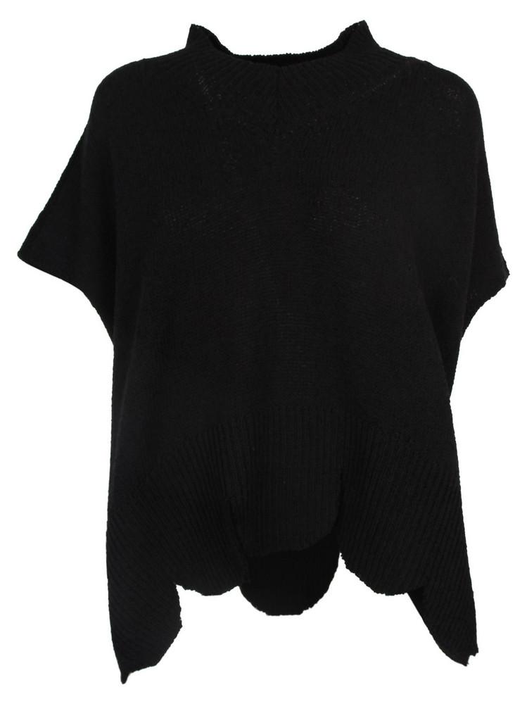 Maison Flaneur Maison Flâneur Oversized Sweater in black