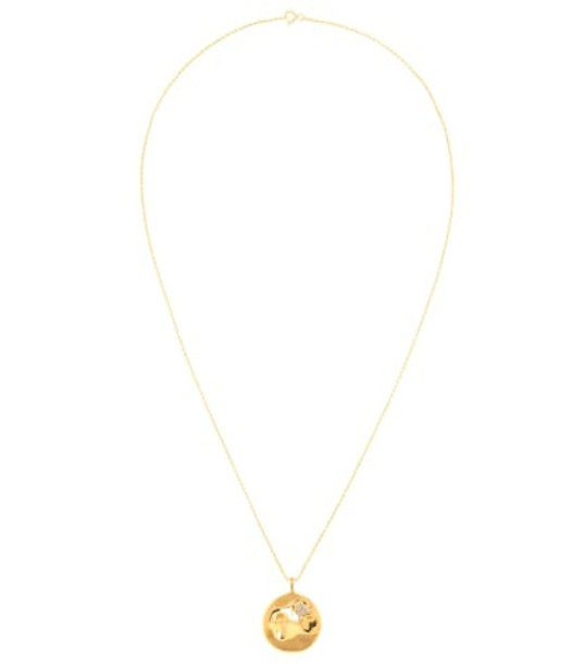 THEODORA WARRE Star pendant gold-plated necklace