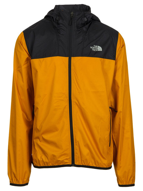 The North Face Rainproof Jacket in black / yellow