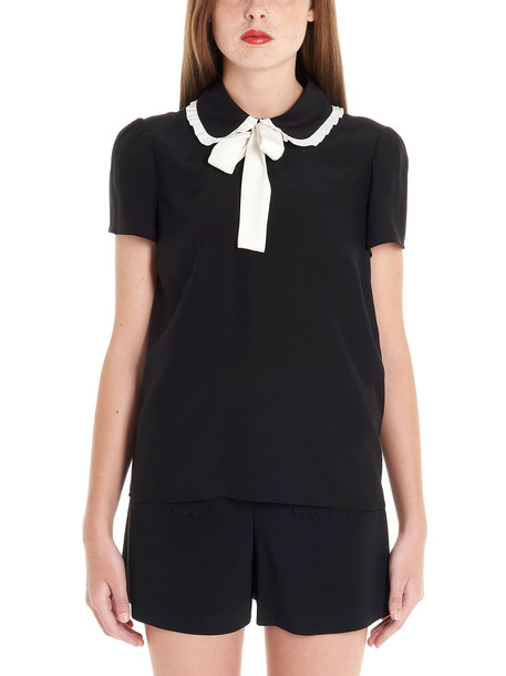 Red Valentino Shirt in black