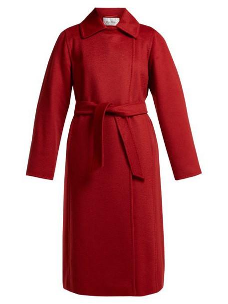 Max Mara - Manuela Coat - Womens - Red