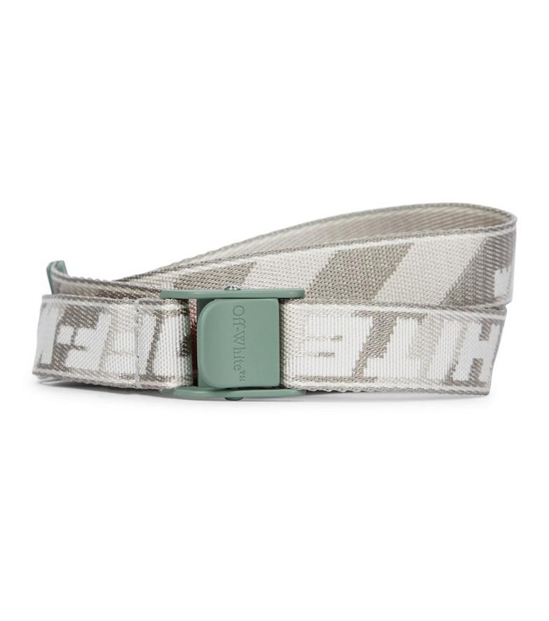 Off-White Industrial belt in grey