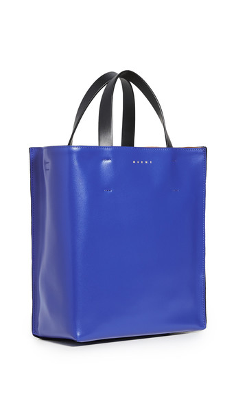 Marni Museo Soft Mini Bag in black / blue