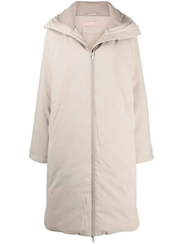 12 STOREEZ oversized-padded coat in neutrals