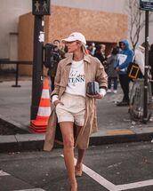 shorts,short,lacoste,pumps,trench coat,sweatshirt,cap,bag