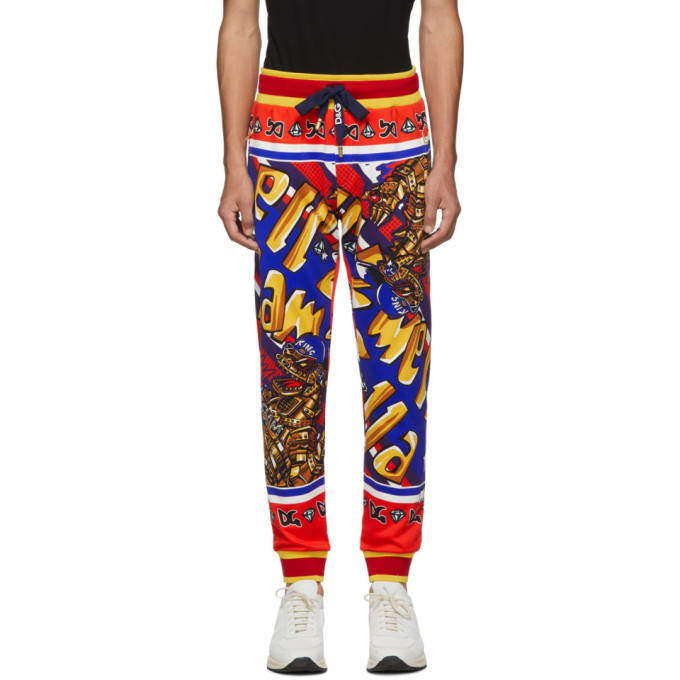 Dolce and Gabbana Dolce & Gabbana Multicolor Glamzilla Lounge Pants
