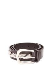 metal,embellished,belt,leather,black