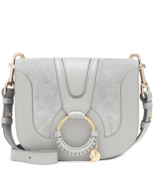 See By Chloé Hana Small leather shoulder bag in blue