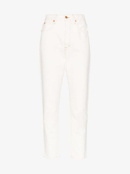 SLVRLAKE Beatnik skinny jeans in white