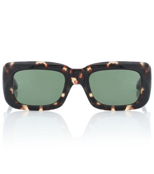 The Attico Marfa acetate sunglasses in black